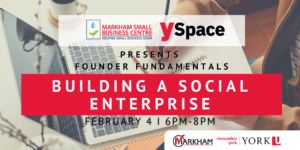 Founder Fundamentals - Building a Social Enterprise @ Webinar