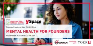 Founder Fundamentals -Mental Health for Founders @ Webinar