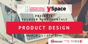 Founder Fundamentals - Product Design @ Webinar