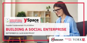 Founder Fundamentals -Building a Social Enterprise @ Webinar