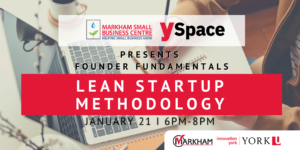 Founder Fundamentals -Lean Startup Methodology @ Webinar