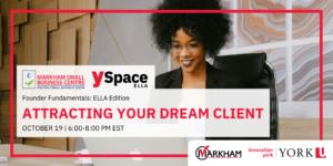 Founder Fundamentals -Attracting Your Dream Client @ Webinar