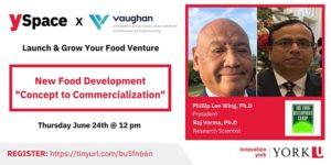 Launch & Grow Your Food Venture: New Food Development @ Webinar